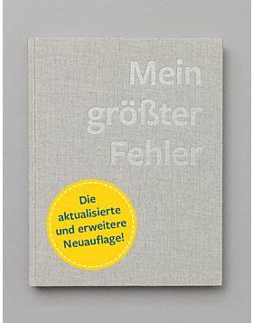 Buch: Mein größter Fehler - Aktualisierte und erweiterte Neuauflage