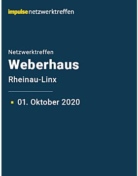Netzwerktreffen bei Weberhaus am 1. Oktober 2020