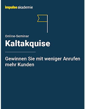 Online-Seminar Kaltakquise
