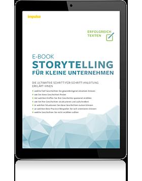 """impulse E-Book: """"Storytelling für kleine Unternehmen"""""""