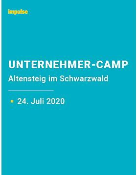 Unternehmer-Camp am 24. Juli 2020