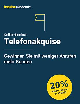 Online-Seminar Telefonakquise