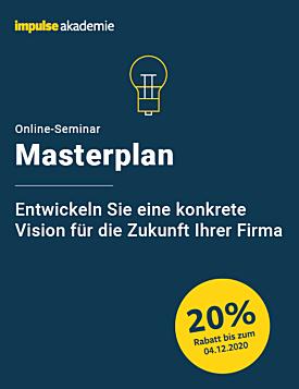 Online-Seminar Masterplan