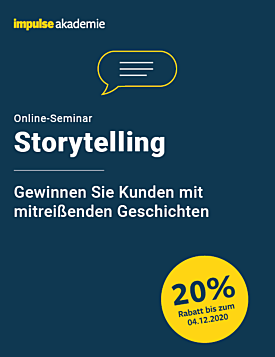 Online-Seminar Storytelling