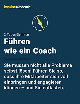 Führen wie ein Coach