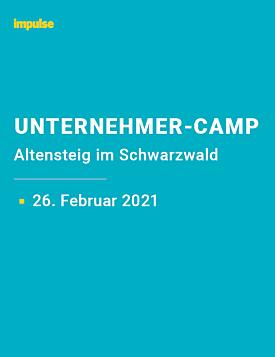 Unternehmer-Camp am 26. Februar 2021