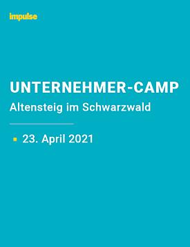 Unternehmer-Camp am 23. April 2021