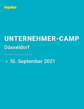 Unternehmer-Camp am 10. September 2021